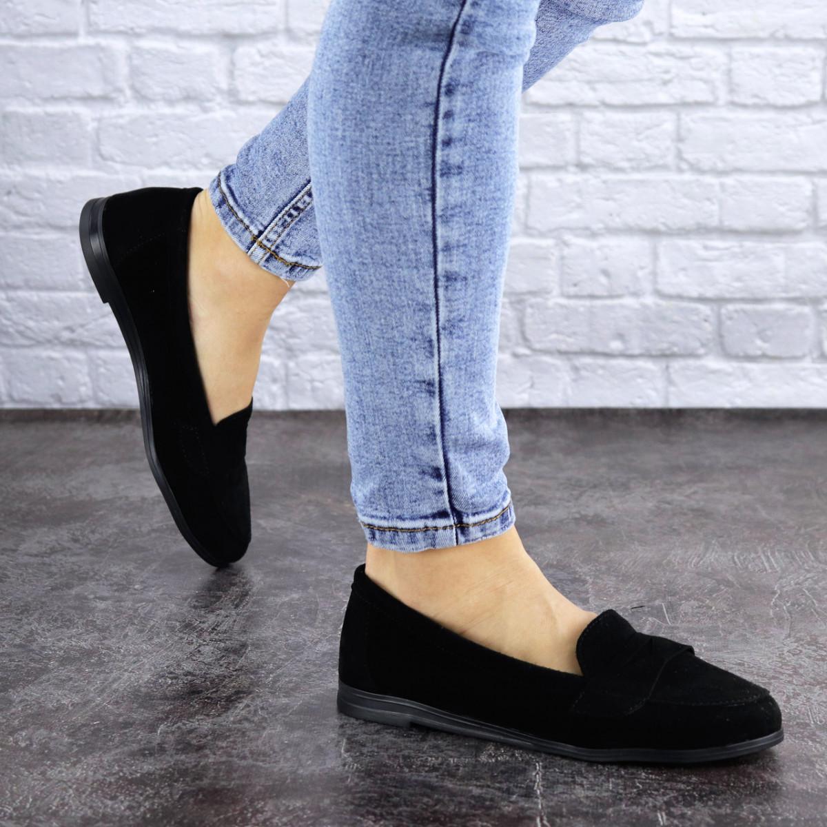 Туфли женские черные Ellsa 2125 (36 размер)