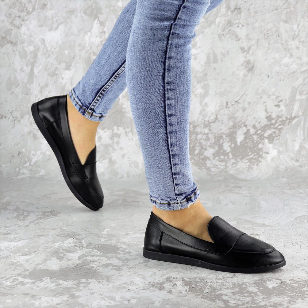 Туфли женские черные Herman 2239 (36 размер)