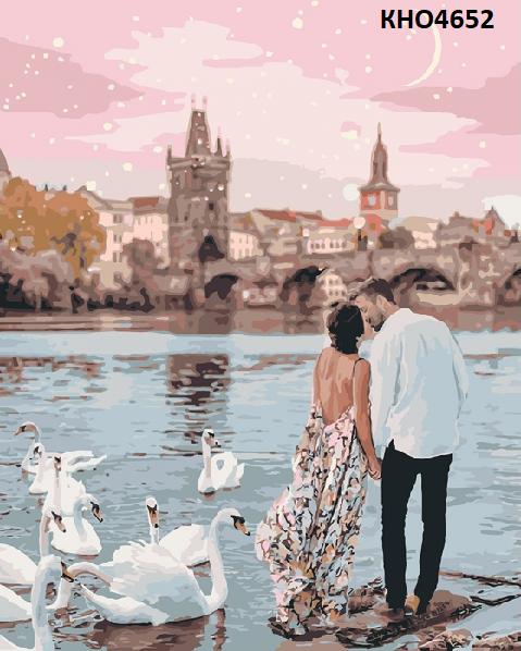 Картина по номерам  «Прогулянка Прагою» (КНО4652)