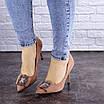 Женские туфли на каблуке розовые April 1936 (36 размер), фото 5