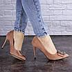 Женские туфли на каблуке розовые April 1936 (36 размер), фото 7