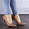 Женские туфли на каблуке розовые April 1936 (36 размер), фото 8