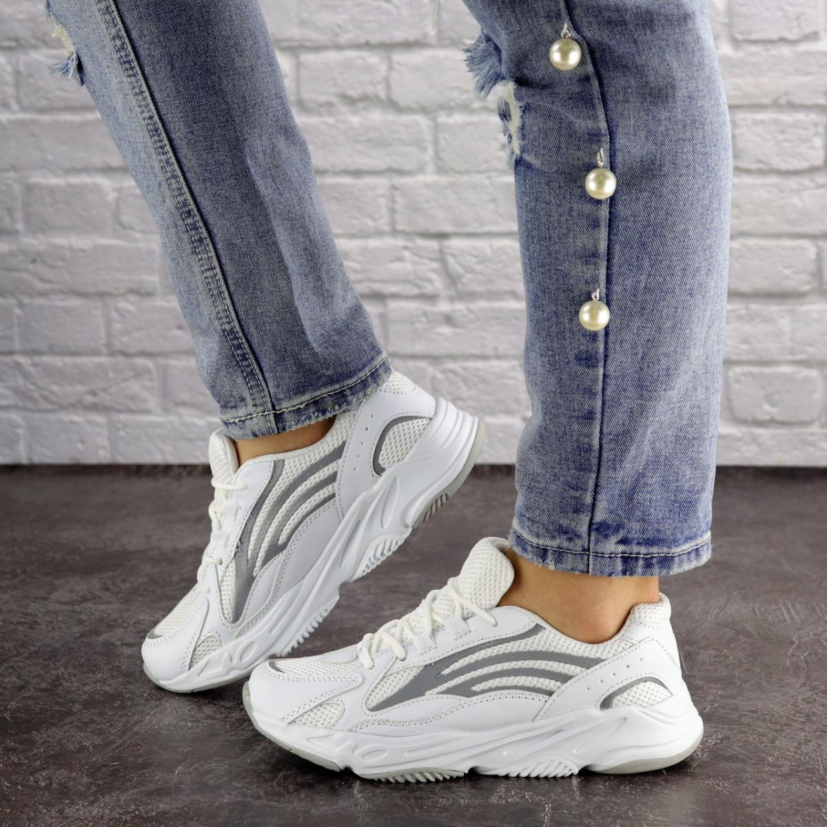 Женские белые кроссовки Crunch 1613 (36 размер)