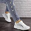 Женские белые кроссовки Crunch 1613 (36 размер), фото 3