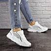 Женские белые кроссовки Crunch 1613 (36 размер), фото 4