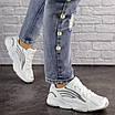 Женские белые кроссовки Crunch 1613 (36 размер), фото 5