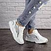 Женские белые кроссовки Crunch 1613 (36 размер), фото 6