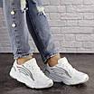 Женские белые кроссовки Crunch 1613 (36 размер), фото 7
