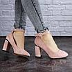 Женские туфли на каблуке розовые Milly 2010 (36 размер), фото 2