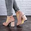 Женские туфли на каблуке розовые Milly 2010 (36 размер), фото 3
