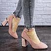 Женские туфли на каблуке розовые Milly 2010 (36 размер), фото 4