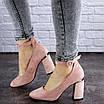 Женские туфли на каблуке розовые Milly 2010 (36 размер), фото 6