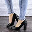 Женские туфли на каблуке черные Denali 1979 (37 размер), фото 5