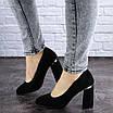 Женские туфли на каблуке черные Potter 2004 (36 размер), фото 5