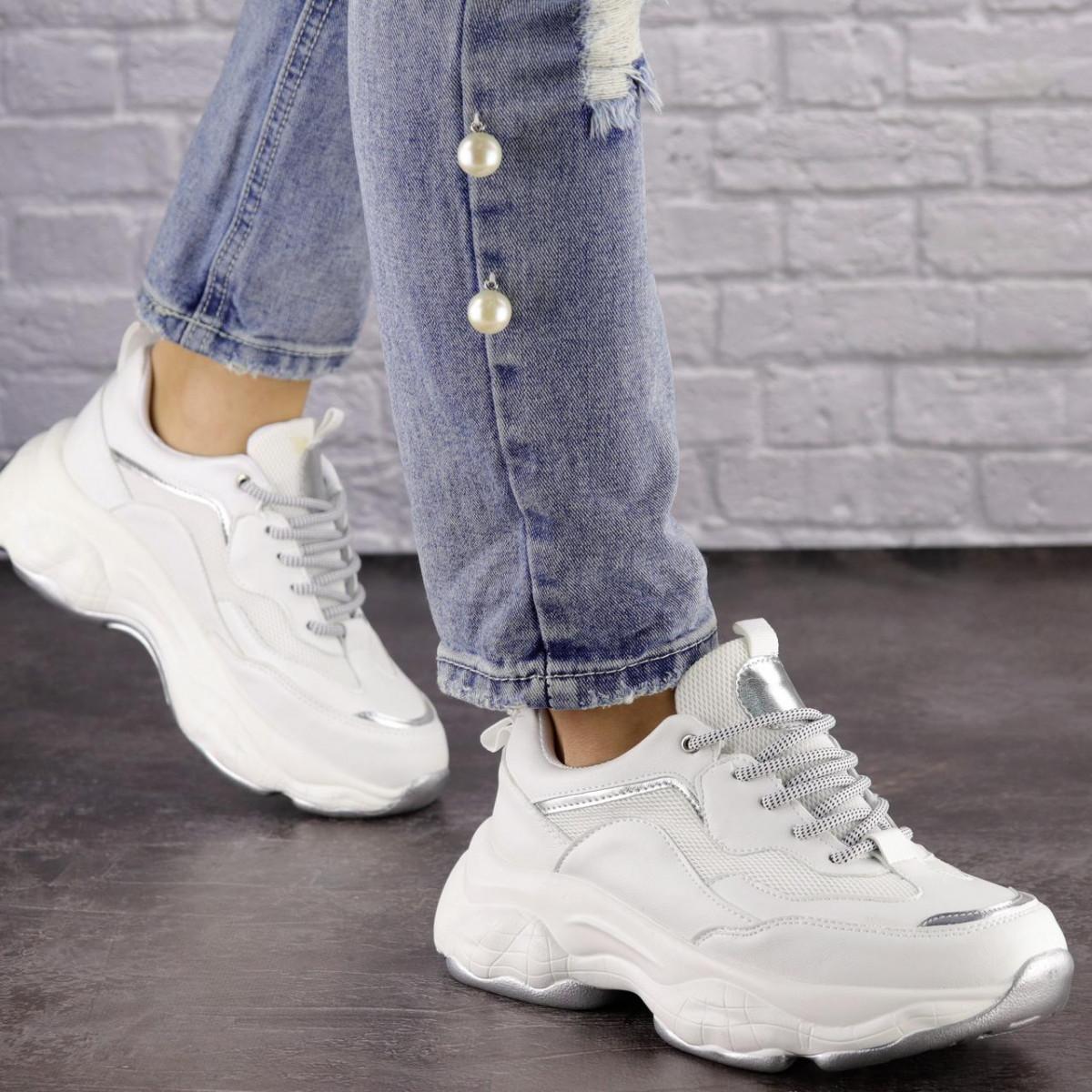 Женские белые кроссовки Harper 1463 (36 размер)