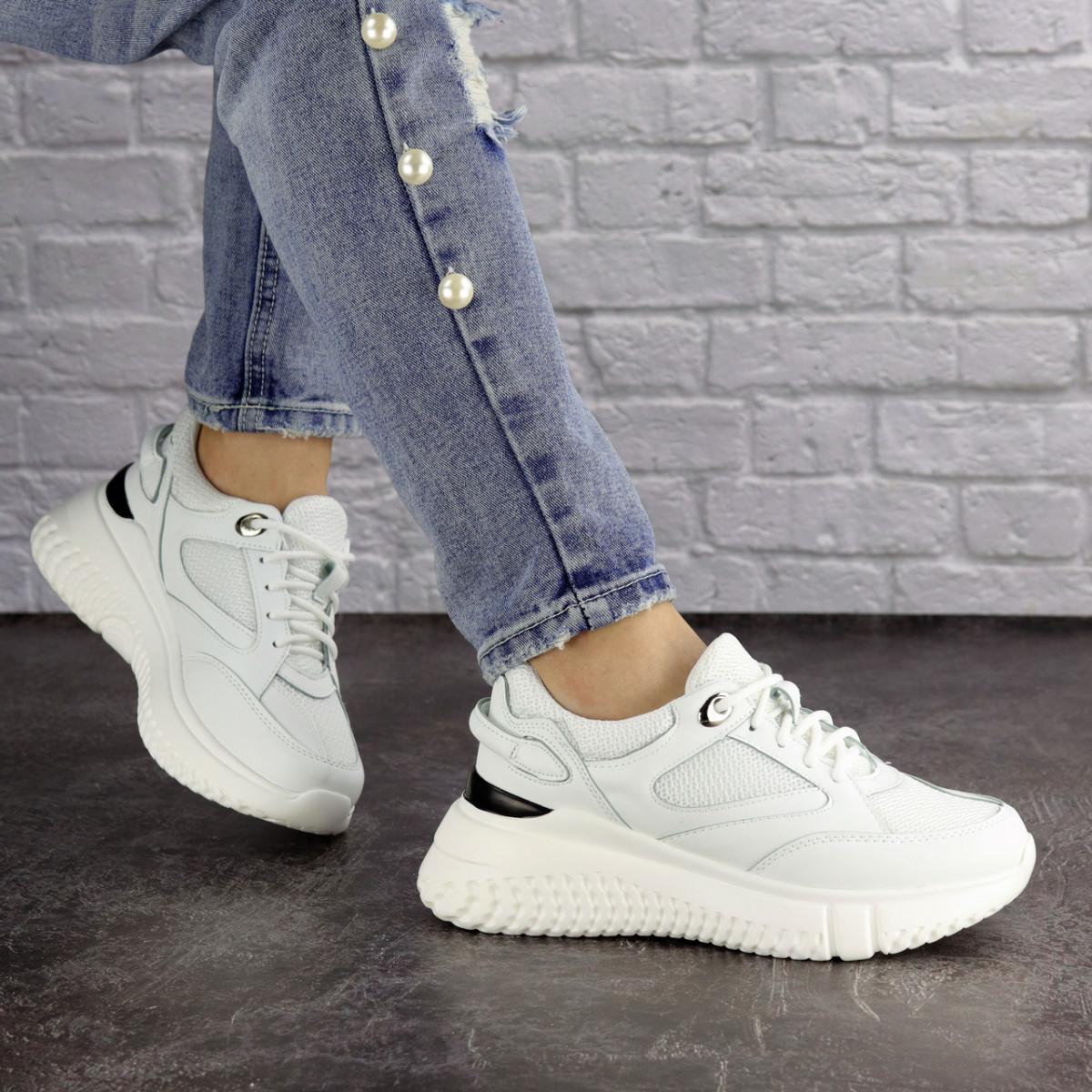 Женские белые кроссовки Jagger 1633 (36 размер)