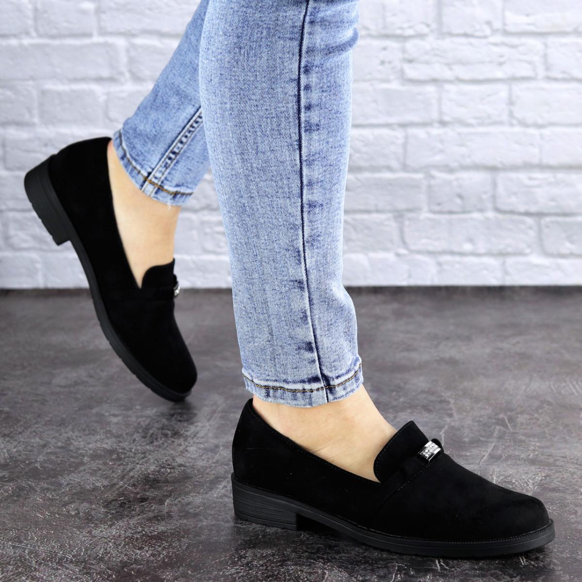 Женские туфли черные Bruno 1926 (36 размер)