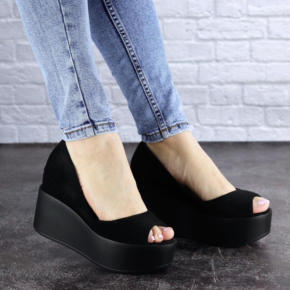Женские туфли черные Ellsie 1940 (39 размер)