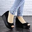Женские туфли черные Ellsie 1940 (39 размер), фото 4