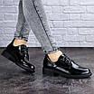 Женские туфли черные Prancer 2033 (36 размер), фото 6