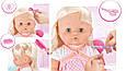 Пупс, лялька в салоні краси, перукарні. Душ з водою, крісло, фен, фото 8