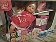 Пупс, лялька в салоні краси, перукарні. Душ з водою, крісло, фен, фото 9