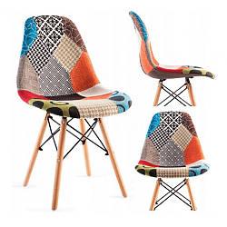 Кресло-Стул с тканевой обивкой MODERN  Разноцветный Нагрузка 120 кг