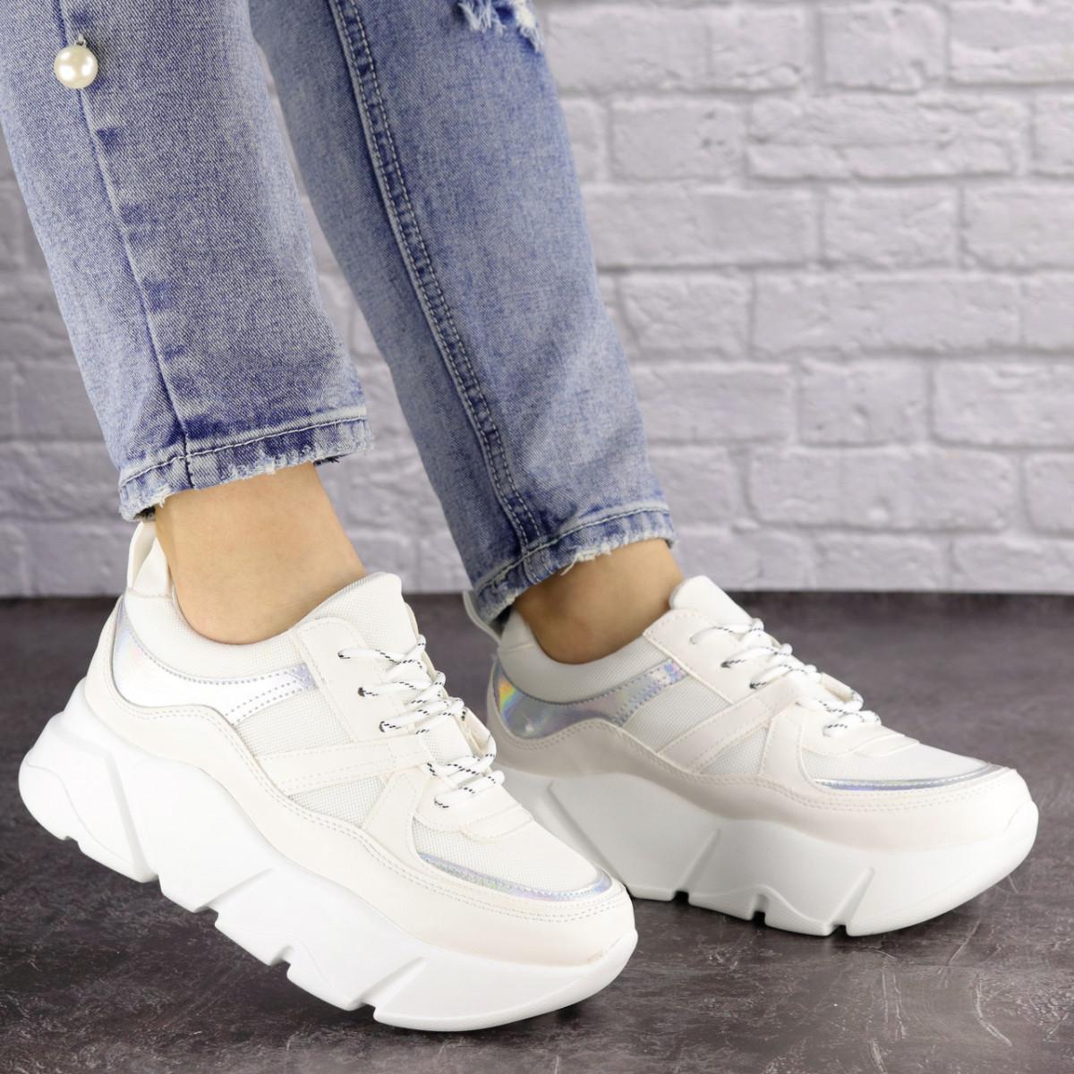 Женские белые кроссовки Yedi 1377 (37 размер)