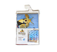 Штора для ванной тканевая Miranda Рыбки 180х200см, фото 1