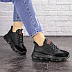 Женские черные кроссовки Huffer 1663 (38 размер), фото 5