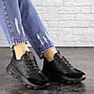Женские черные кроссовки Huffer 1663 (38 размер), фото 6