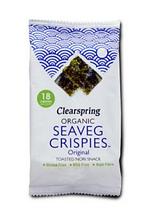 Водорості морські хрусткі органічні, Clearspring, 4г