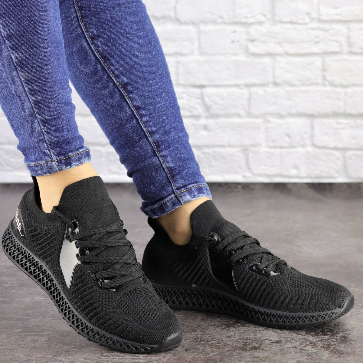 Женские черные кроссовки Ninja 1490 (40 размер)