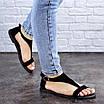 Женские босоножки черные Ginny 1980 (36 размер), фото 6