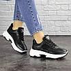 Женские черные кроссовки Noble 1672 (37 размер), фото 5