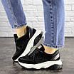 Женские черные кроссовки Pancho 1693 (36 размер), фото 7
