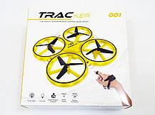 Квадрокоптер Tracker 001 управление с руки Black, дрон, фото 3