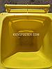 Контейнер для сміття жовтий sulo en-840-1/ 240 л, фото 2