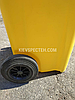 Контейнер для сміття жовтий sulo en-840-1/ 240 л, фото 3