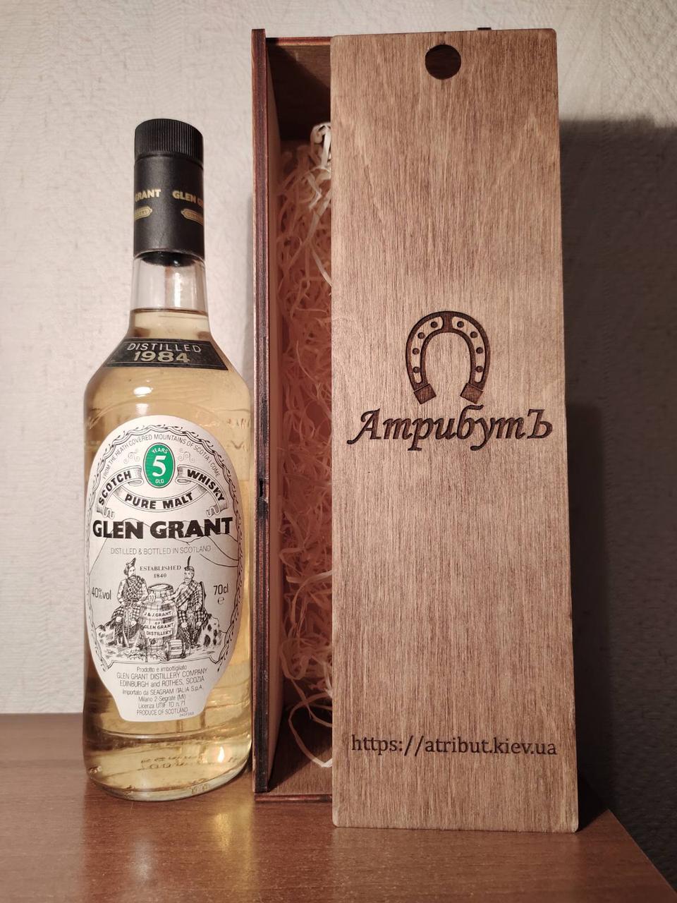 Виски 1984 года Glen Grant Шотландия