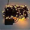 Гирлянда светодиодная на 100 LED теплый белый, фото 4