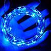 Гирлянда на солнечной батарее 100 LED / гирлянда проволока капли росы с разными режимами, фото 6
