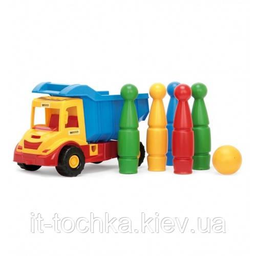 Грузовик с кеглями wader 32220 multi truck