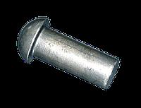 Заклепка с полукруглой головкой Ø3×6 (стальная без покрытия) ГОСТ 10299-80, DIN 660, ISO 1051