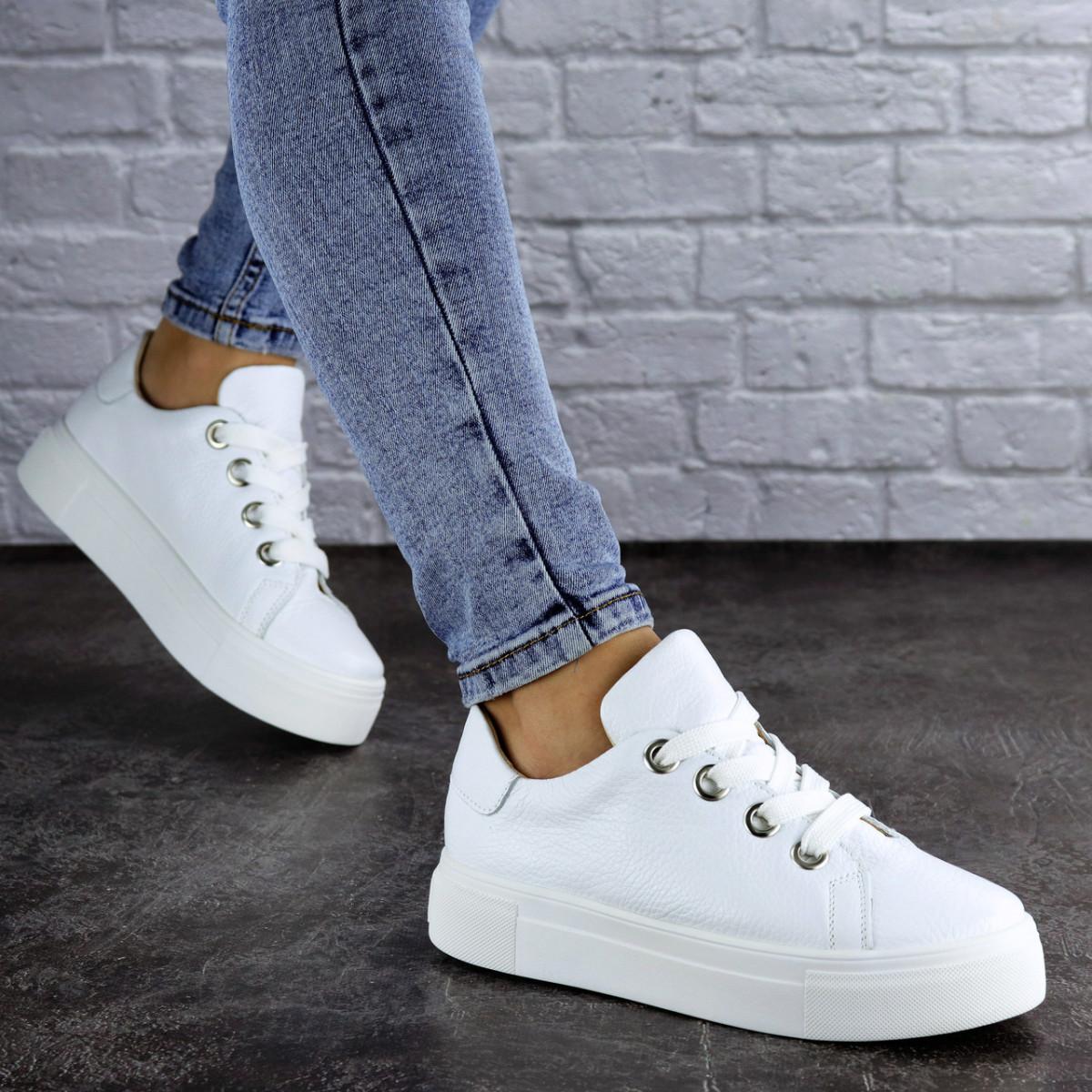 Кроссовки женские белые Kona 2100 (36 размер)