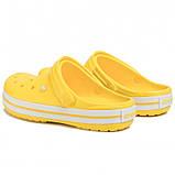 Женские кроксы Crocs Crocband светло-желтые 37 р., фото 3