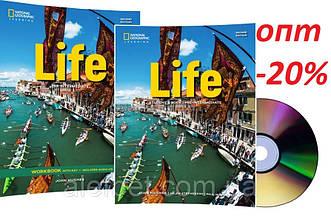 Английский язык /Life / Student's+Workbook+CD. Учебник+Тетрадь (комплект с диском), Pre-Intermediate/NGL