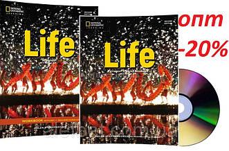 Английский язык /Life / Student's+Workbook+CD. Учебник+Тетрадь (комплект с диском), Beginnner/NGL