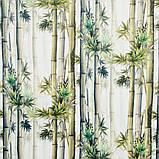 Ткань для мебели велюр принт Бамбук, фото 2