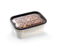 Контейнер пищевой PREMIUM прямоугольный UCSAN plastik Турция(18,5X14X7,5 CM) 1 л. M-1364